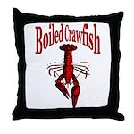Boiled Crawfish Throw Pillow