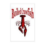 Boiled Crawfish Mini Poster Print