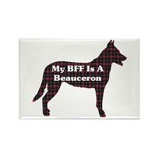 BFF Beauceron Rectangle Magnet (10 pack)