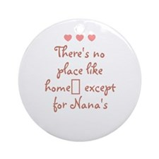 There's no place like home_ e Ornament (Round)