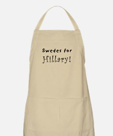 BBQ Apron - Swedes for Hillary