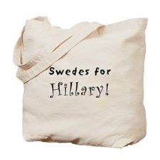 Tote Bag - Swedes for Hillary