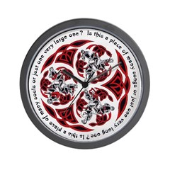 Celtic Music Wall Clock