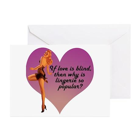 Lingerie Lover Greeting Cards (Pk of 10)