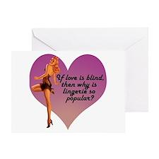 Lingerie Lover Greeting Card