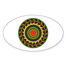 Kaleidoscope 00025 Oval Decal