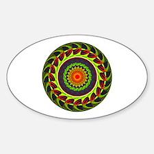 Kaleidoscope 00025 Oval Decal