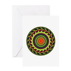 Kaleidoscope 00025 Greeting Card