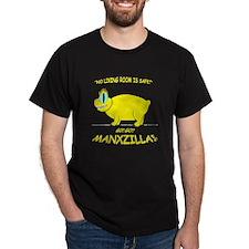 manxzilla_4drk-ylw T-Shirt