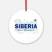 Siberia: Winter Wonderland Ornament (Round)