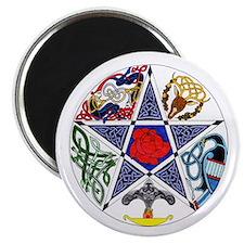 Celtic Pentagram Magnet