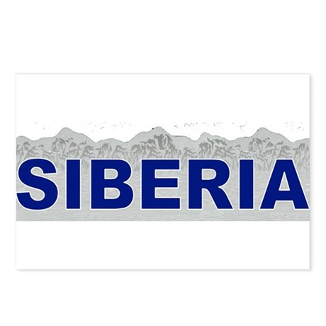Siberia, Russia Postcards (Package of 8)