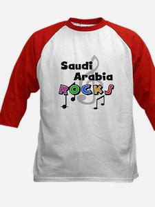 Saudi Arabia Rocks Kids Baseball Jersey