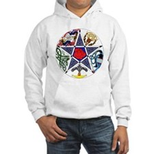 Celtic Pentagram Hooded Sweatshirt