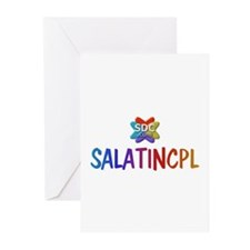 SALATINCPL Products Greeting Cards (Pk of 10)