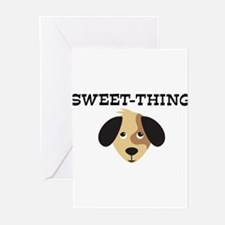 SWEET-THING (dog) Greeting Cards (Pk of 10)