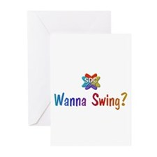 Wanna Swing? Greeting Cards (Pk of 10)