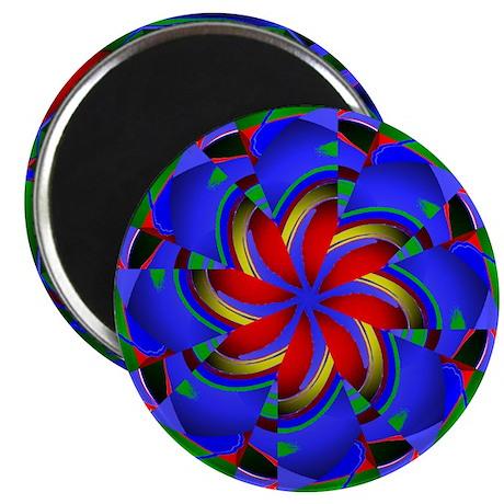 "Kaleidoscope 0003 2.25"" Magnet (100 pack)"