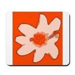 Flower Mousepad (Orange)