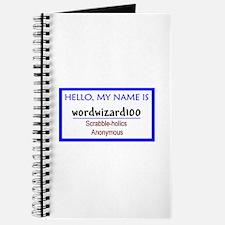 Scrabble Word Wizard Journal