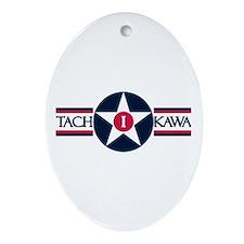 Tachikawa Air Base Oval Ornament