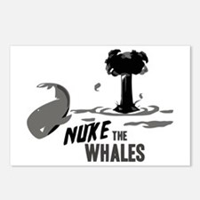 Nuke the Whales Postcards (Package of 8)