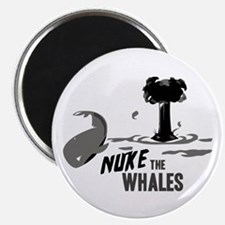 "Nuke the Whales 2.25"" Magnet (10 pack)"