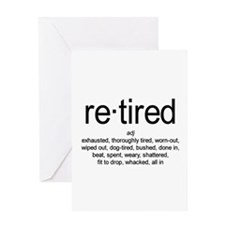 Definition of Retired Greeting Card