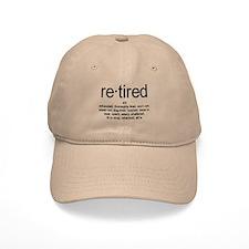 Definition of Retired Baseball Cap