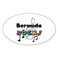 Bermuda Rocks Oval Decal
