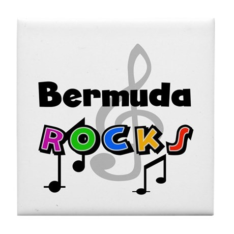 Bermuda Rocks Tile Coaster