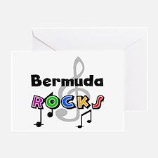 Bermuda Rocks Greeting Card