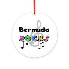 Bermuda Rocks Ornament (Round)