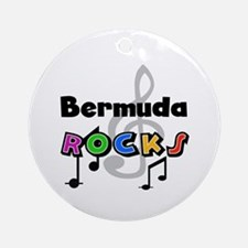 Bermuda Rocks Ornament (Round)