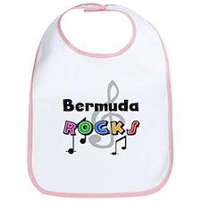 Bermuda Rocks Bib
