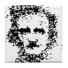 Edgar Allan Poe Tile Coaster