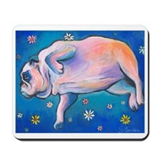 bulldog #3  Mousepad