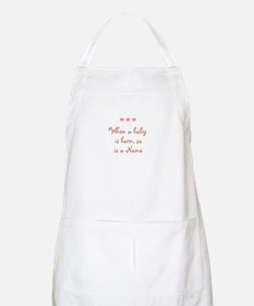 When a baby is born, so is a  BBQ Apron