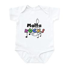 Malta Rocks Infant Bodysuit
