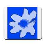 Flower Mousepad (Blue)