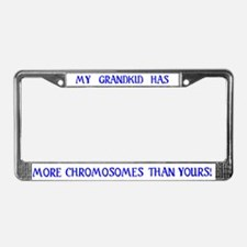 Grandkid License Plate Frame
