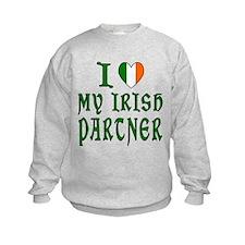 I Love My Irish Partner 2 Sweatshirt