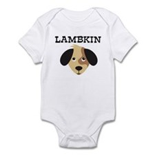 LAMBKIN (dog) Infant Bodysuit