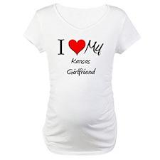 I Love My Kansas Girlfriend Shirt