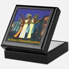 In Honor of Sisters Everywhere Keepsake Box