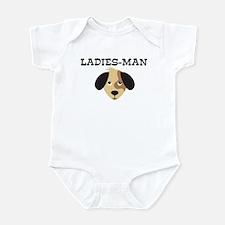 LADIES-MAN (dog) Infant Bodysuit