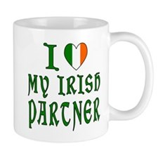 Love Irish Partner center Mug