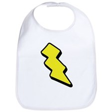 Lightning Bolt Bib
