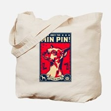 Obey the Min Pin! USA Tote Bag