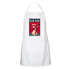 Obey the Min Pin! USA BBQ Apron